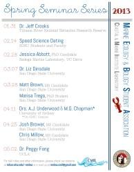 Spring 2013 Seminar Series