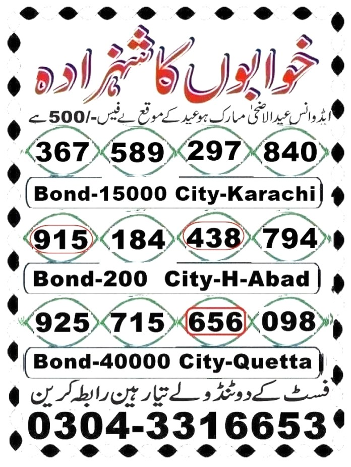 750 Prize Bond Guess Paper (1)
