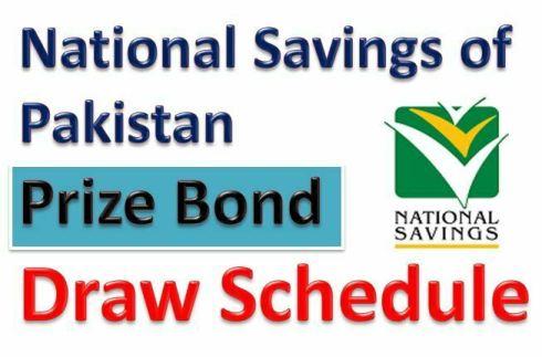 Prize Bonds Draw Schedule 2021-22