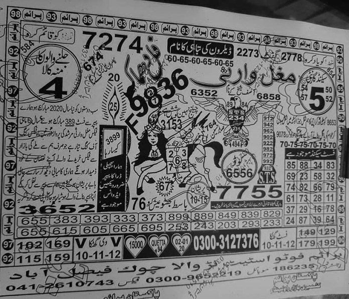 Mughal Warsi 15000 Guess papers, prize bond guess papers (2)