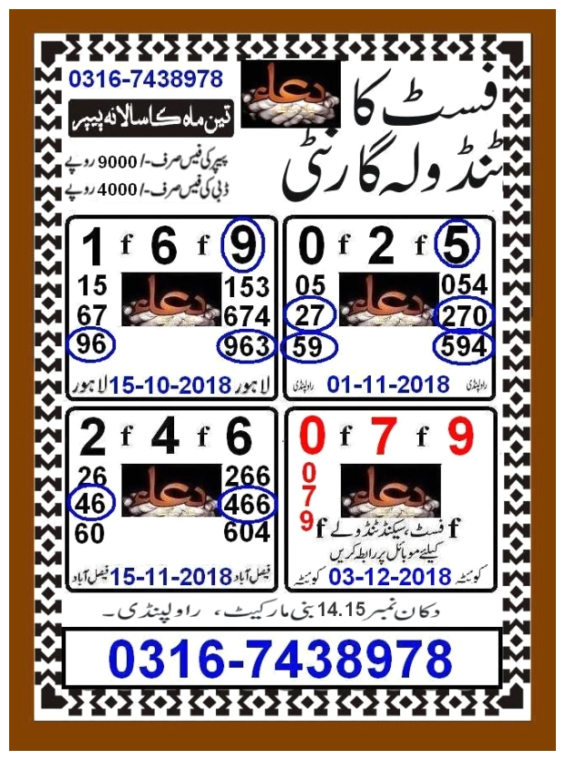 Prize bond 40000 VIP Papers by Syead anwar1411