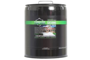 Foundation Armor SX5000 - Best Sealer For Areas With Snow