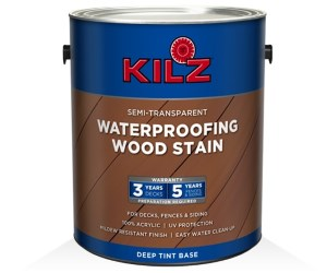 KILZ Exterior Waterproofing Wood Stain Review