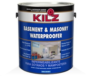 KILZ Interior Exterior Basement and Masonry Waterproofing Paint Review