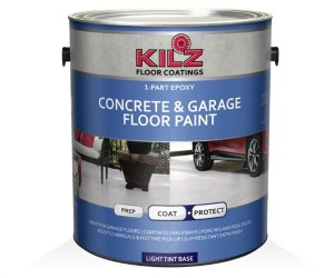 KILZ One-Part Epoxy Acrylic Concrete Paint Review