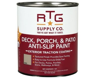 RTG Deck, Porch, Patio Anti-Slip Paint Review