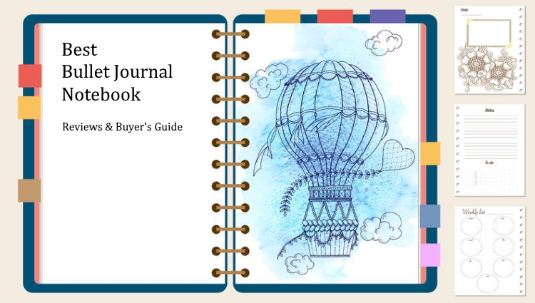 12 Best Bullet Journal Notebooks 2019 - Reviews and Buying Guide