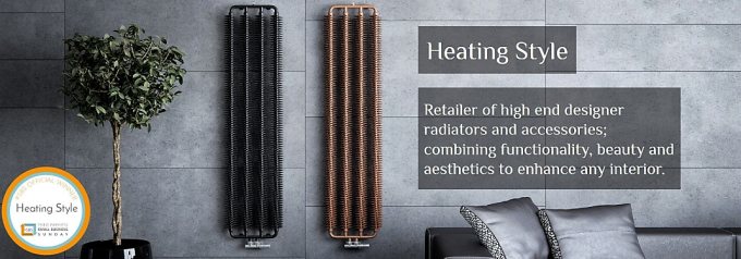 An example of some heating style radiators in a high end lounge set up.