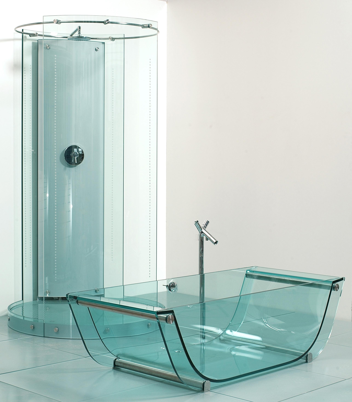 Prizma Glass Bath Collection Prizmastudio