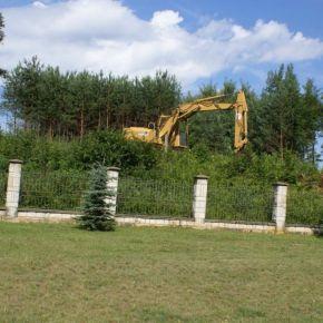 Rozbudowa cmentarza
