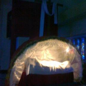 Przygotowywanie grobu Pańskiego i ciemnicy
