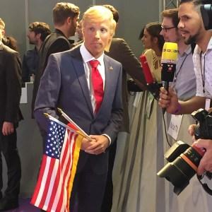 Oliver Pocher als Donald Trump ECHO 2016, Verena Bender, PR leben, PR, PR Blog, Pressearbeit, Kommunikation, Coaching