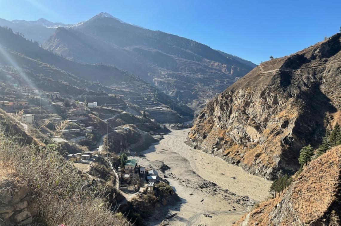 rupture d un glacier dans l himalaya