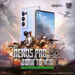 OPPO Reno5 series named the official smartphone partner of PUBG MOBILE Esports in the MEA region 2021