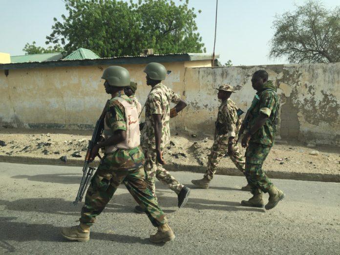 Nigerian Troops in actions