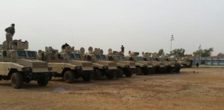 REVA MRAPS equipped with Anti-Aircraft weapons and heavy machine guns used by Special Forces instrumental to capture of Bama, Gwoza etc