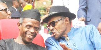 President Muhammadu Buhari and Vice President Osinbajo