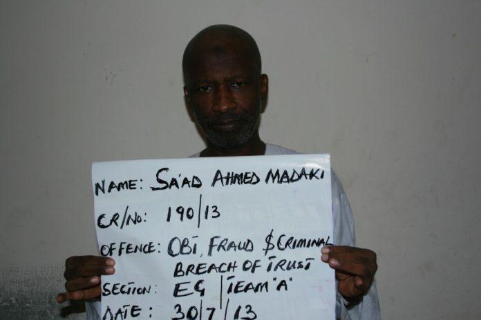 EFCC Saad Madaki