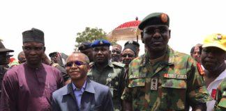Chief of Army Staff Buratai and Elrufai