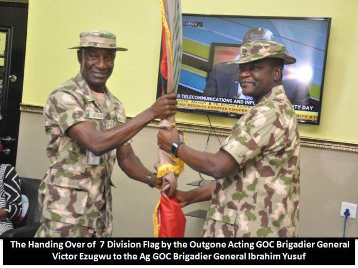 GOC Brigadier Ibrahim Yusuf Takes over from Brigadier Victor Ezugwu