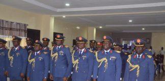 NAF Air War College Participants
