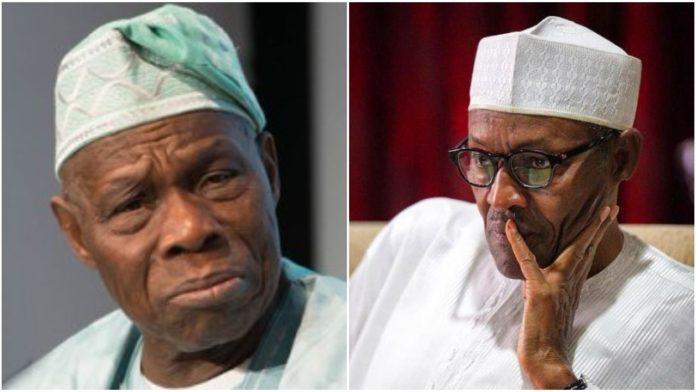 Olusegun Obasanjo and Muhammadu Buhari