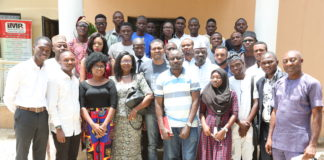 CJA Finalists and Award Winners at Campus Journalism Awards Workshop