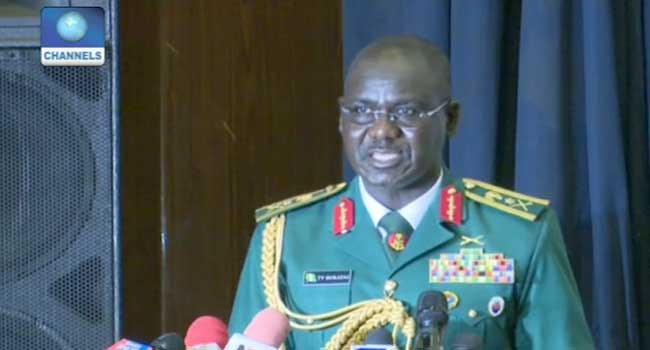 Chief of Army Staff Lt. Gen Tukur Buratai