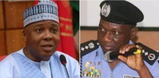 Senator Saraki Police Idris
