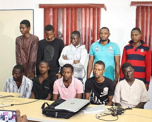 Police Nab Criminal Gangs