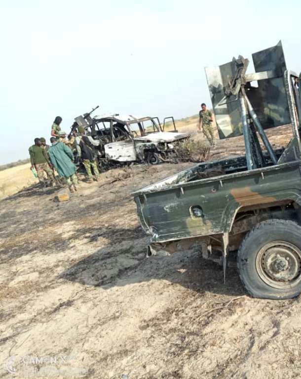 MNJTF Destroys Boko Haram Gun Trucks