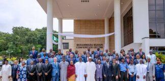 CISSA Members with President Buhari
