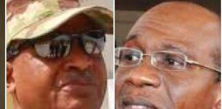 Air Marshal Sadique Abubakar of NAF and Governor Godwin Emefiele of CBN