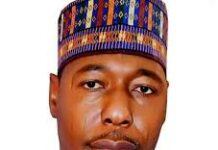 Professor Zulum Borno Governor