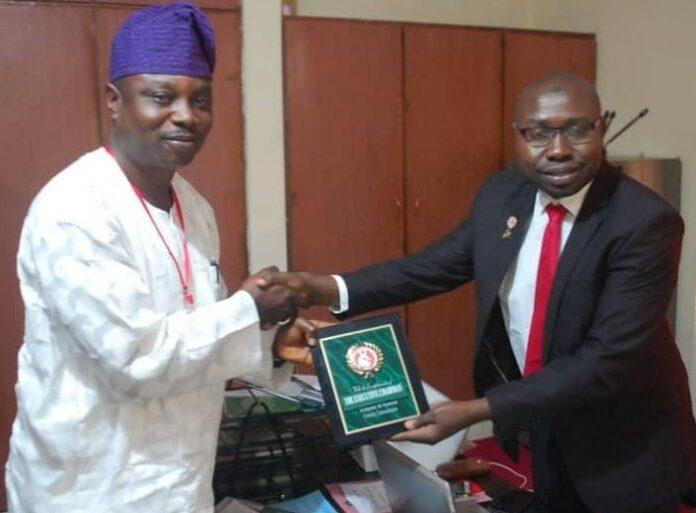 Segun Adeyemi of NOA and Isyaku Sharu of EFCC in Ilorin