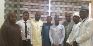 Jaafar Jaafar, Executive Director and other guests at the inauguration of Penlight Centre in Kano