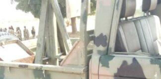recovered guntrucks by police