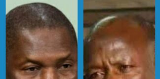 Justice Minister Abubakar Malami and Ibrahim Magu of EFCC