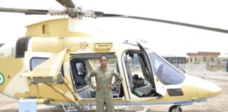 Late Female Combat Helicopter Pilot, Tolulope Arotile