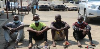 Robbery Suspects in FCT