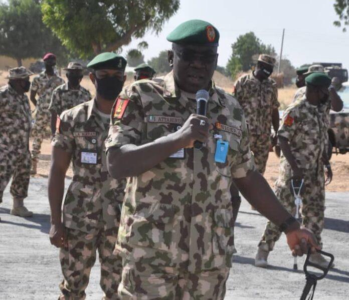 General Ibrahim Attahiru Chief of Army Staff