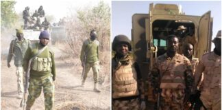 Nigerian Troops in Timbuktu Triangle