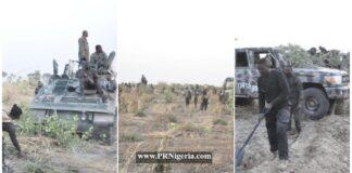 Nigerian troops clear Marte axis of Boko Haram ISWAP Terrorists February 2021