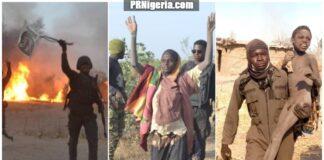 Nigerian troops inside Sambisa Forest, February 2021