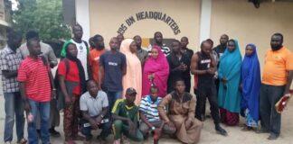 Humanitarian Workers Rescued by Troops