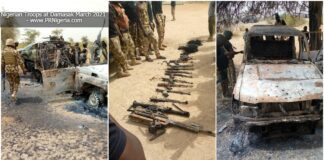 FILE IMAGE: Nigerian Troops attack terrorists in Damasak March 2021