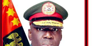 Late Chief of Army Staff Lt General Ibrahim Attahiru