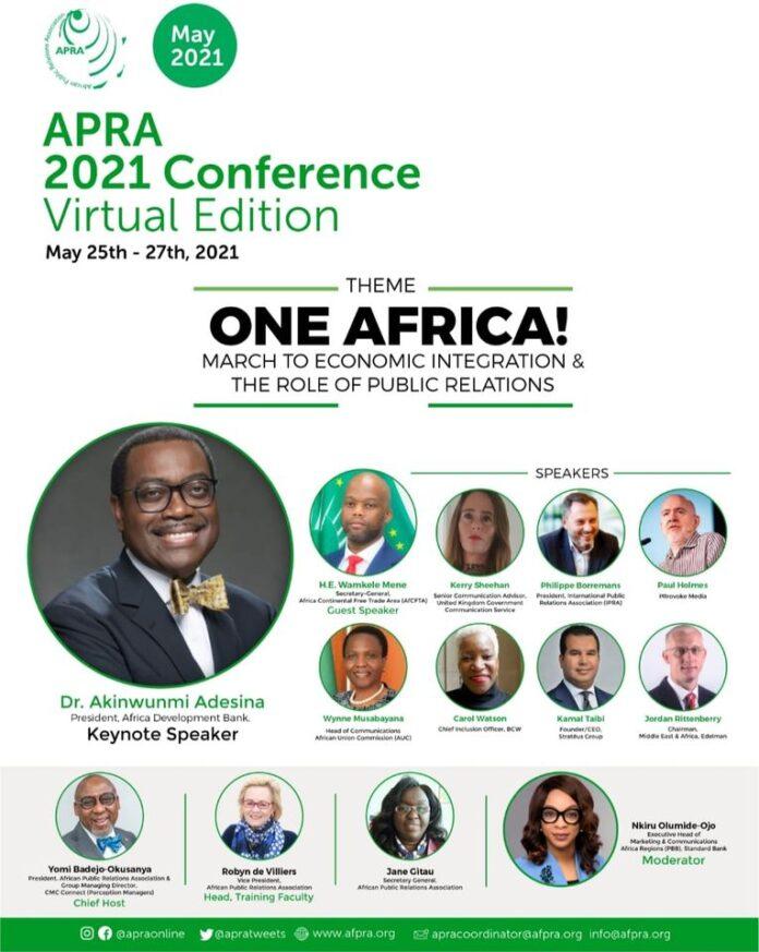 APRA Africa PR Conference 2021