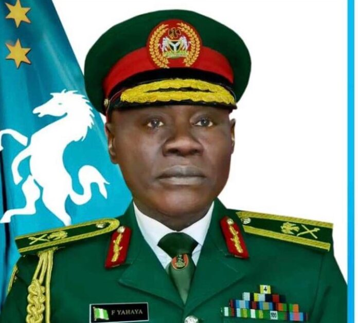 General Farouk Yahaya Army Chief