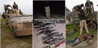 troops Eliminate Terrorists in Banki